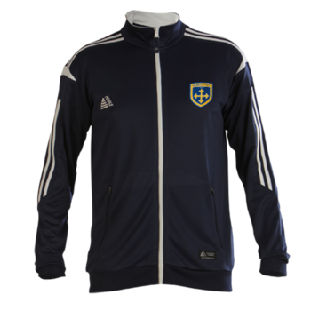 Club Tracksuit Top (Navy/White)