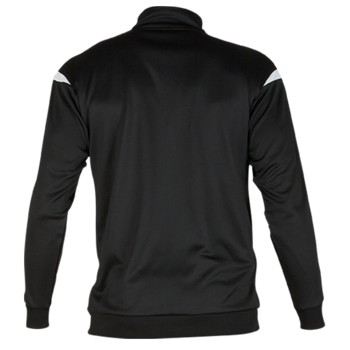 Club Tracksuit Top (Black/White)