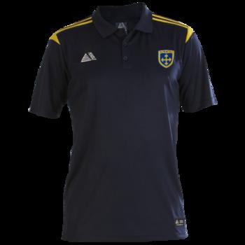 Club Polo Shirt (Navy/Yellow)