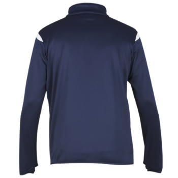 Club 1/4 Zip Top (Navy/White)