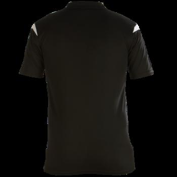 Club Polo Shirt (Black/White)