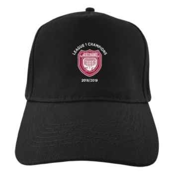 Club Cap - Black (League 1 Champions Badge)